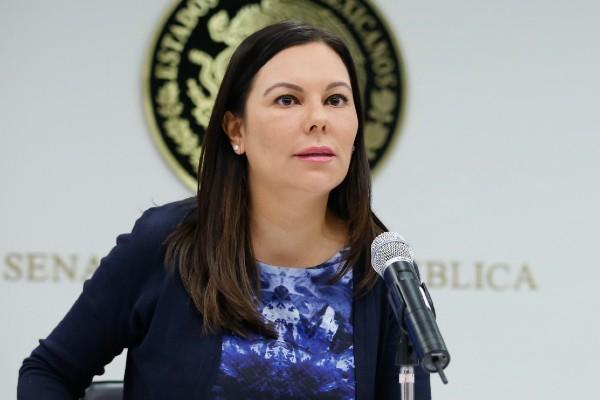 Laura Rojas, presidenta de la Mesa Directiva. Foto: Cuartoscuro