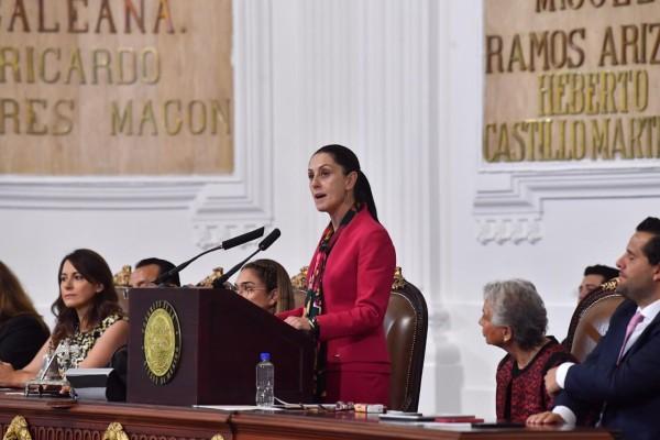 La jefa de Gobierno, Claudia Sheinbaum. Foto: Pablo Salazar