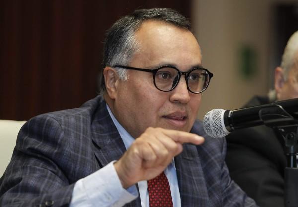 Andrés Peñaloza Méndez, presiente de la Comisión Nacional de Salarios Mínimos (Conasami). Foto: Twitter @CONCAMIN