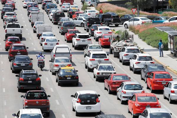 La congestión vehicular en las 32 ciudades analizadas por el Imco cuesta 94 mil millones de pesos al año. Foto: ENFOQUE