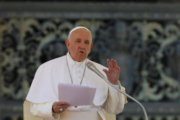 En los saludos en español  del Papa, al final de la Audiencia, México estuvo presente. Foto: Pablo Esparza
