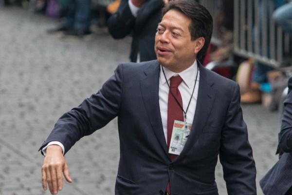 Mario Delgado, coordinador de diputados Morena. Foto: Cuartoscuro
