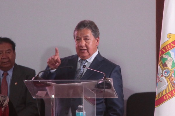 Higinio Martínez, legislador por el Estado de México. Foto: Cuartoscuro