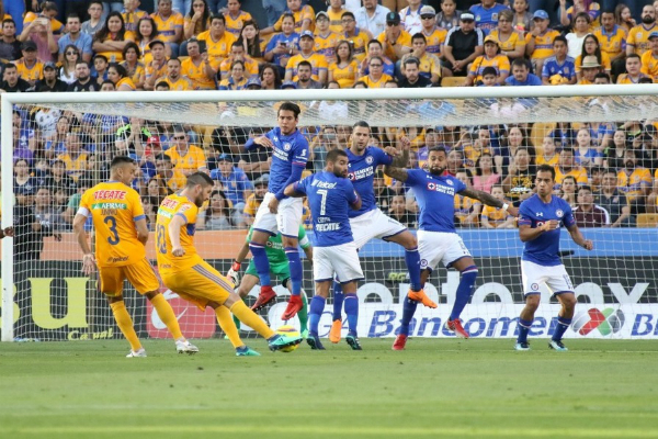 tigres vs cruz azul final vivo