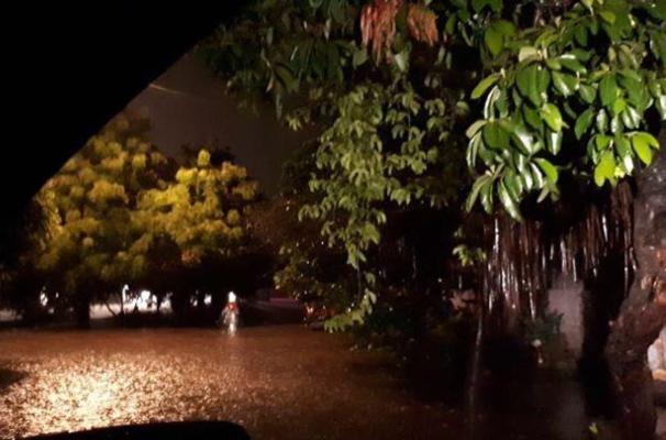 Inundaciones en Colima. Foto: Especial