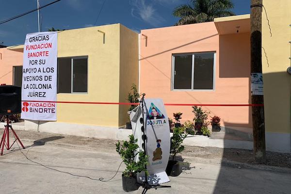 Banorte Casas damnificados sismos
