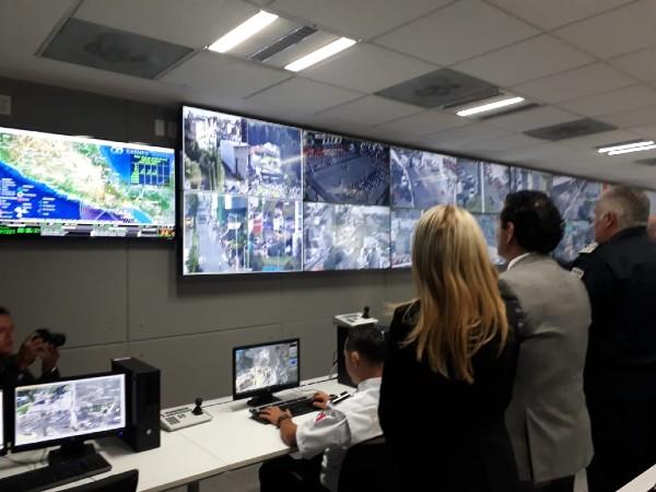 """También en la entidad opera una aplicación móvil para emergencias llamada """"C-Now"""". Foto: Especial"""
