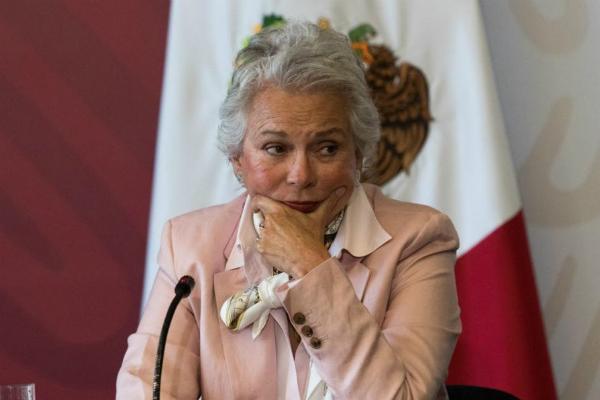 Así lo señaló Olga Sánchez Cordero. Foto: Especial.