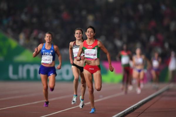 Laura Galván fue medallista panamericana en los 5 mil metros. Foto: Mexsport