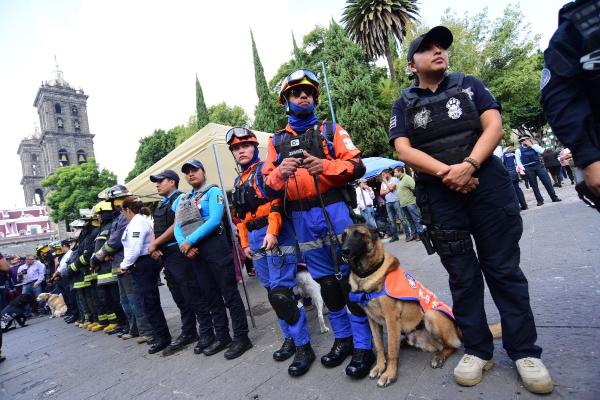 Extensión macrosimulacro 32 entidades México David León