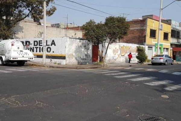 Se registró un derrumbe en la alcaldía Gustavo A. Madero. Foto: Especial.