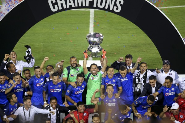 Cruz Azul logró el título de la Leagues Cup tras derrotar por 2-1 a los Tigres. Foto: MEXSPORT