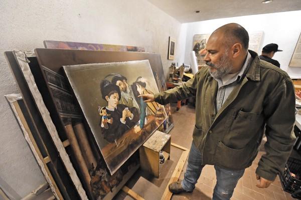 SU PAÍS. La exhibición representa el regreso del artista a México, quien desde 2013 no presentaba su trabajo en la ciudad. Foto: PABLO SALAZAR SOLÍS