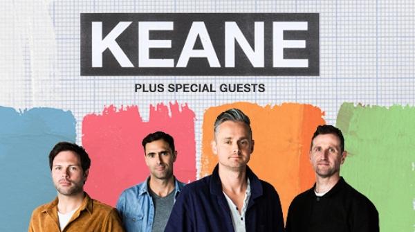 Keane han anunciado también su gira británica para este otoño. FOTO: Póster Gira Canadá 2020