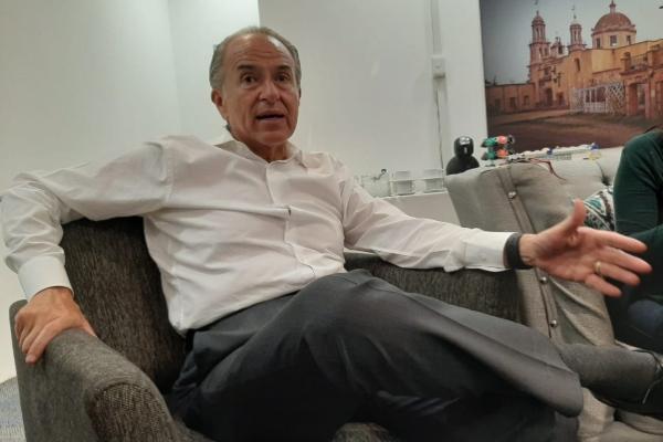 Juan Manuel Carreras López, gobernador de SLP. José Manuel Arteaga