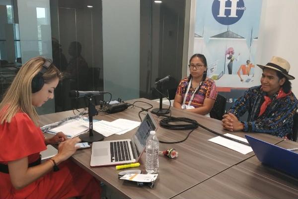 Sandra Aracely, coordinadora de proyectos Fundación Rigoberta Munchú FOTO:ESPECIAL