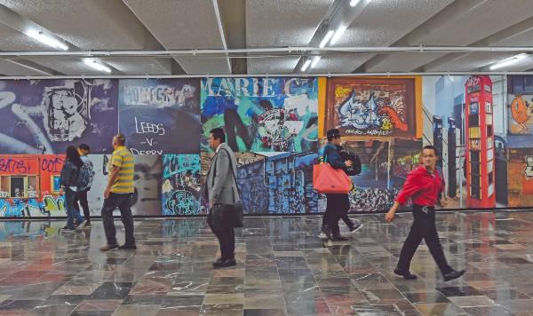 GALERÍA. Con 18 mil metros, la estación Hidalgo tiene la exhibición más grande del mundo. Foto: Daniel Ojeda