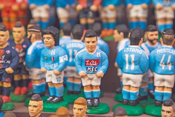 ESTRELLA. La silueta del mexicano ya se vende como recuerdo. Foto: Pablo Esparza