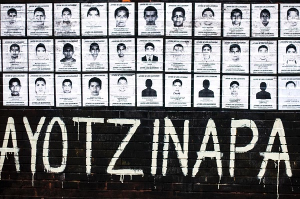 Se cumplen cinco años de la desaparición de 43 estudiantes de la Escuela Normal Isidro Burgos, en Ayotzinapa, Guerrero. FOTO: Cuartoscuro