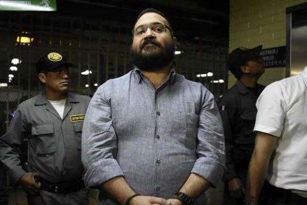 El exgobernador de Veracruz se encuentra preso. Foto: Especial.