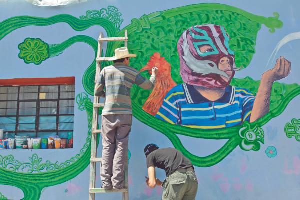 LOGRO. El colectivo ha recibido el apoyo de la gente y de gobiernos locales para el proyecto. Foto: ENFOQUE