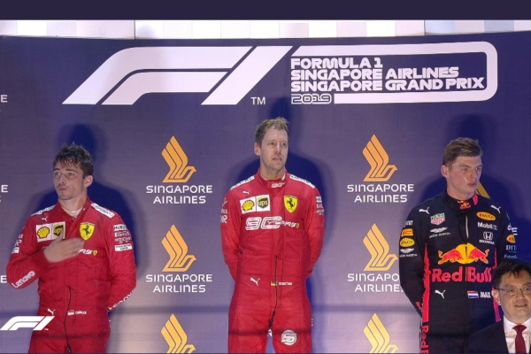 Sebastian Vettel (Ferrari). Foto: @F1