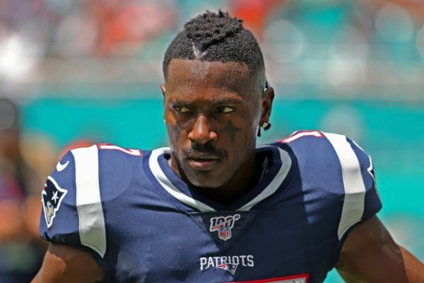 Antonio Brown sólo estuvo once días dentro de la organización de Patriots. Foto: AP