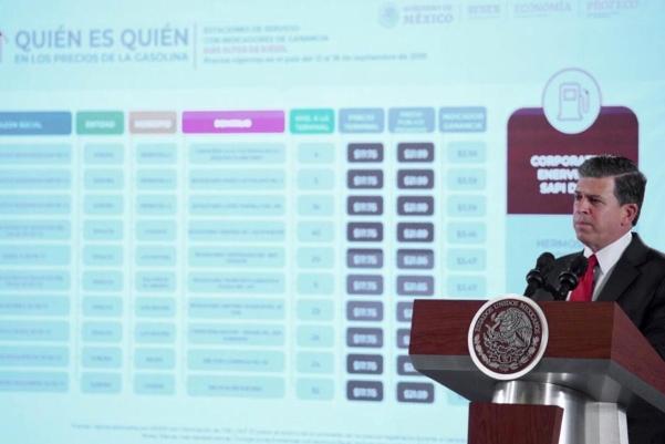Ricardo Sheffield Padilla, titular de la Profeco. Foto: Presidencia