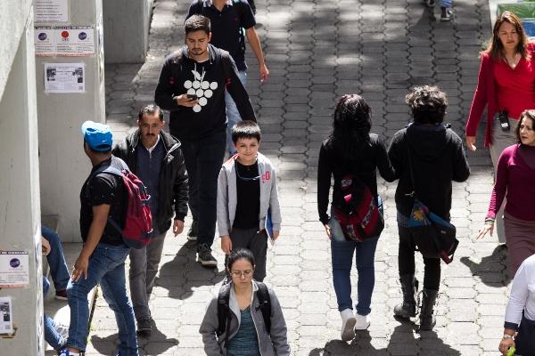 CarlosSantamaríaDíaz, el menor que hizo historia en la Universidad Nacional Autónoma de México. Foto: Cuartoscuro