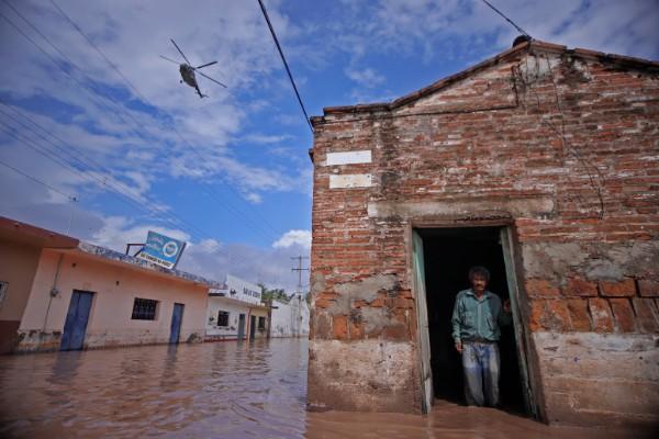 Las localidades mas afectadas son Los barriles, El Saregento y La Ventana, estas dentro del municipio de La Paz. Foto: Cuartoscuro