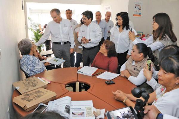 LOGRO. La desocupación en la gestión de Juan Manuel Carreras registra una baja histórica. Foto: Especial