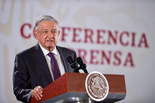 El presidente López Obrador durante La Mañanera. Foto: Presidencia