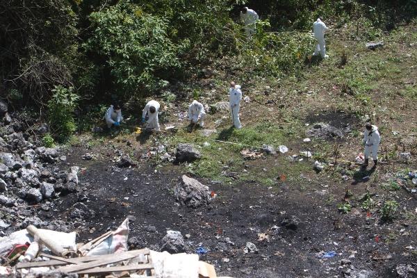 La Comisión ha insistido al gobierno federal para que esos restos se analicen, declaró el ombudsman nacional. FOTOS: Cuartoscuro
