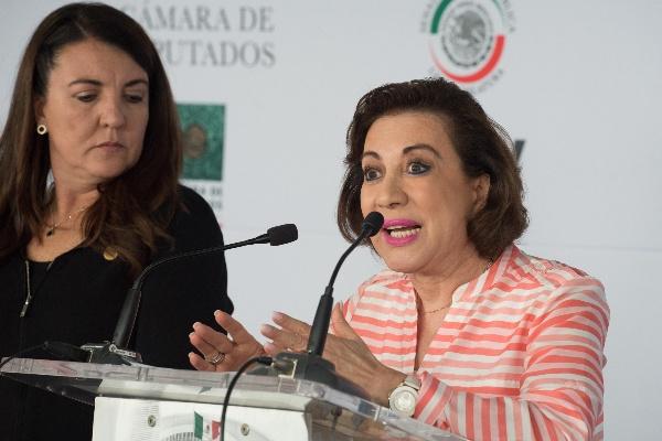 María Guadalupe Murguía Gutiérrez, senadora del PAN FOTO: MARIO JASSO /CUARTOSCURO.COM