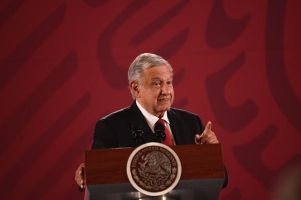 El presidente de México, Andrés Manuel López Obrador. Foto: Nayeli Cruz