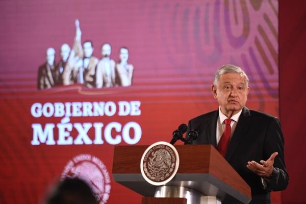 El presidente Andrés Manuel López Obrador. Foto: Nayeli Cruz