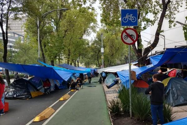 El acceso a la Cámara Alta es normal por la calle Madrid. Foto: Gerardo Suárez.