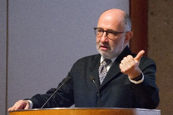 El ministro en retiro José Ramón Cossío durante la Inauguración del Seminario de Derecho y Salud Mental. FOTO: VICTORIA VALTIERRA /CUARTOSCURO.COM