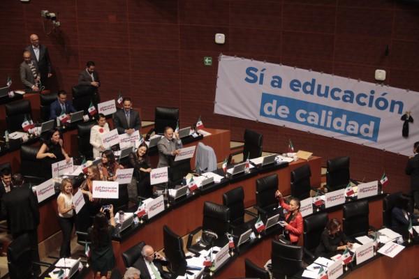 senado_ley_educacion_reforma_partidos
