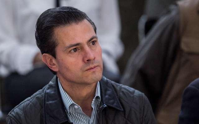 Enrique Peña Nieto, expresidente de la República.  FOTO: GALO CAÑAS /CUARTOSCURO.COM