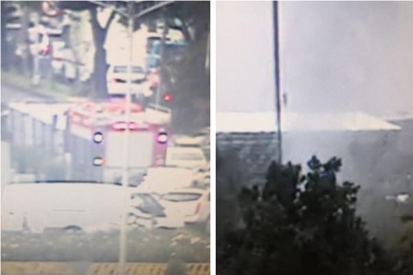 El cuerpo de bomberos ya está en el lugar. Foto: @OVIALCDMX