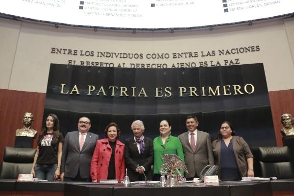 La secretaria de Gobernación, Olga Sánchez Cordero. Foto: Especial