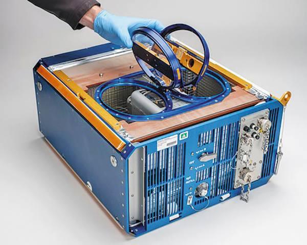 EXPERIMENTO. Algunos ratones vivieron en jaulas con gravedad artificial por más de un mes. Foto: NASA