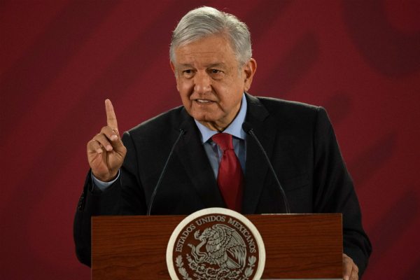 Andrés Manuel López Obrador, presidente de México. Foto: Especial.