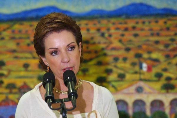 Marta Sahagún programa _Alas_jóvenes descarta cargo público