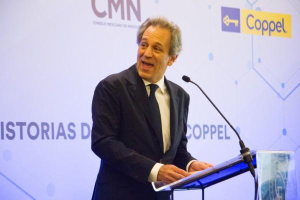 CONFIANZA. Antonio del Valle espera que el presupuesto genere certidumbre en la IP. Foto: Cuartoscuro