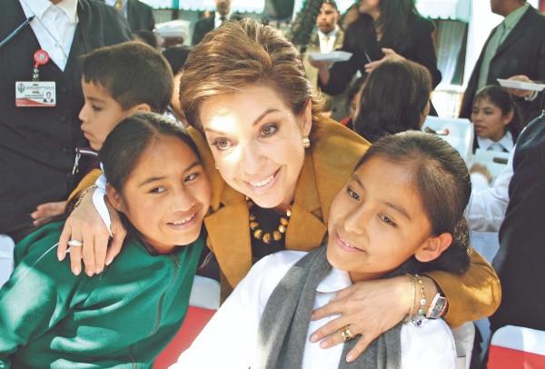 VISIÓN. Marta Sahagún dijo que es defensora de la igualdad, porque es un término de justicia. Foto: Cuartoscuro