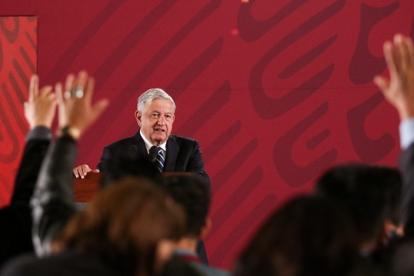 25 por ciento de la población indicó que percibe menos corrupción ante las acciones del presidente Foto: CUARTOSCURO.COM