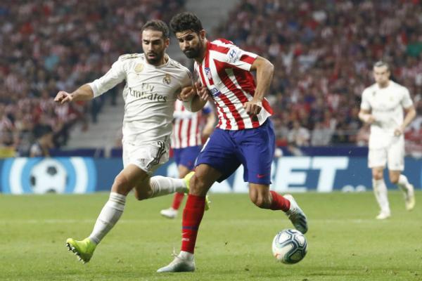 """Atlético de Madrid y Real Madrid empatan en el primer """"derby"""" de la temporada"""