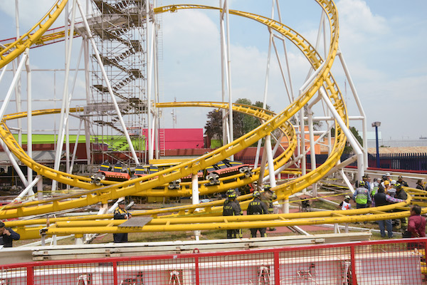 Feria de Chapultepec accidente muere estudiante ipn